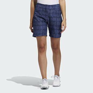 adidas 7 inch Printed Short Femme, Indigo Nuit, 0