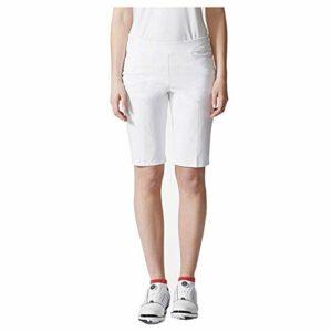 adidas Golf pour Femme Ultime Adistar Bermuda, Femme, Blanc