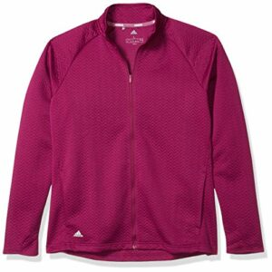 adidas Golf Textured Layer Jacket, Power Berry, X-Large