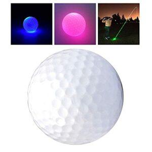 Ballons De Golf Glow Golf Balls, Ballon De Golf Rougeoyant Clignotant, Nuit Glow Flash Light Up, Durable Night Night Sports, 6 Couleurs Golf Cadeau