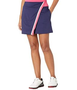 Callaway Contrast Wrap Golf Skort Jupe-Short, Sorbet Framboise, XL Femme