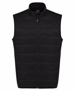 Callaway Ultrasonic Quilted Vest sans Manches, Noir, 3XL Homme