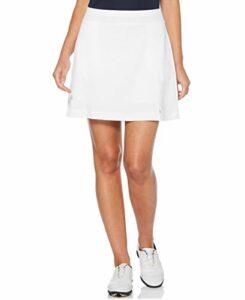 Callaway Women's Solid Stretch Golf Skort, Brilliant White, XX Large