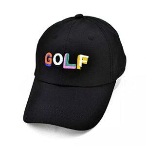 Casquette Baseball Chapeau Soleil Chapeau de Coton de Golf Professionnel Casquette de Golf Sports de Golf Chapeau de Golf Chapeaux de Golf de Sport Respirant réglable Pliable Chapeau Cadeau