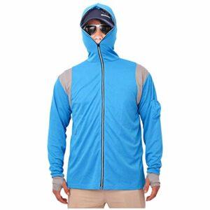 Coupe-Vent Mens Tops À Capuche Sweats À Capuche Sweatshirts Combinaison De Pêche Zipper Blouse À Capuche