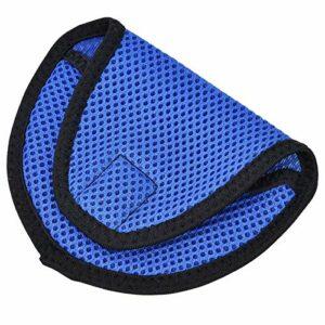 Dauerhaft Couvre-tête de Club de Golf Couvre-tête de conducteur résistant à l'usure 4,9 x 3,7 Pouces(Blue)