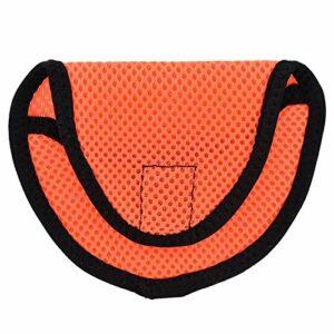 Dauerhaft Couvre-tête de Pilote de Golf Couvre-tête de Club d'accessoires de Golfeur Solide et Durable 4,9 x 3,7 Pouces(Orange)