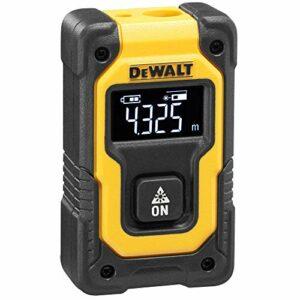 DeWalt DW055PL-XJ Medidor de Distancias Pocket, Yellow, One Size