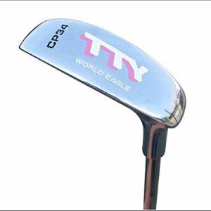 DHTOMC Chipper Clubs de Golf Clubs de Golf de Club de Golf de Pratique intérieure et extérieure de Putter de Golf de Poids léger pour Hommes et Femmes pour débutants et avancés