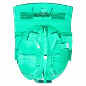 DSJSP Clip Vert de Golf, Clip Vert de Golf Transparent avec Stylo marqueur Accessoires de marqueur de Golf, en Plastique de Haute qualité, 2,4 * 1,8 * 1,2 Pouces
