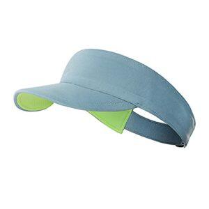 Hktec Pare-soleil pour homme et femme – Protection solaire UPF 50 + – Absorbe la transpiration – Anti-UV – Pour le golf, le baseball, le tennis