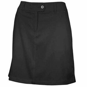 Island Green IGLSKT1852 Short de Golf pour Femme Noir Taille 10