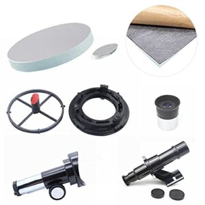 ITop Kit télescopique astronomique de 114 mm de diamètre et 900 mm de distance focale – Kit de montage professionnel pour enfants et débutants