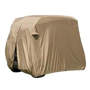 JTYX Housse de voiturette de Golf étanche Universelle Convient à la Plupart des voiturettes de Golf à 4 passagers Housse extérieure Robuste pour voiturettes de Golf EZ Go Club