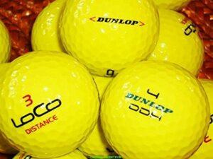 LBC de Sports 200jaunes Dunlop Mix Balles de golf Premium AAAA sans logo