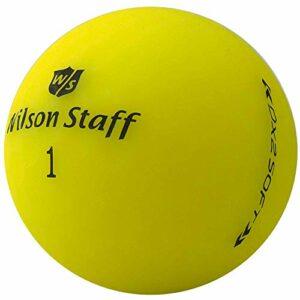 lbc-sports Wilson Staff Dx2 / Duo Soft Optix Lot de 100 balles de golf d'occasion Jaune
