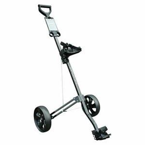 Masters 3 Series Chariot de golf Aluminium Noir