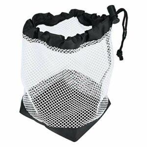 Pochette de Balle Durable avec Cordon de Serrage en Maille, Support de Balle, Sac de Balle, pour Fournitures de Sports de Plein air