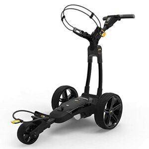 PowaKaddy 2020 FX3 18 Trou Lithium Réglable Pliable Golf Chariot – Noir, One Size
