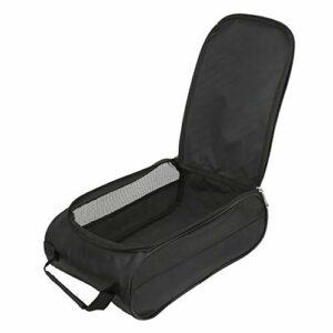 Ruiqas Sac à chaussures de golf en nylon, portable, respirant, grande capacité, sac de rangement pour chaussures de basket-ball, chaussures de football (32,5 x 20,5 x 12,5 cm)