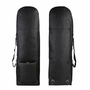 Sacs de golf pour hommes Sac de voyage de golf à couche unique avec poulie imperméable à l'eau de golf pliable épaississant le sac d'aviation épaississant des vacances de golf sac de transport for hom