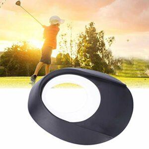 Snufeve6 Aide au, Coupe de Trou de et Coupe de Mise en Drapeau, pour Cour de Bureau à Domicile de Golfeur passionné(Blanche, Style C)