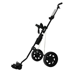 T TOOYFUL Golf Push Pull Chariot Chariot Pushcart Carry Scorecard Bouteille Cages Équipement