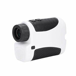 TAKE FANS Golf Rangefinder-400M Portable Golf Laser Range Finder 6X Portée de Grossissement Pente Compensation Angle Balayage