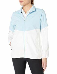 Under Armour Veste de golf zippée Windstrike pour femme XS Blue Frost (494) / Blue Frost.