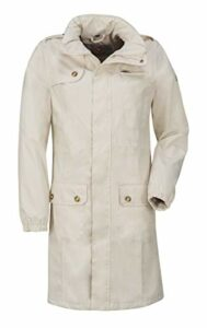 Wafo Tessin Imperméable Femme, Beige, Taille 54