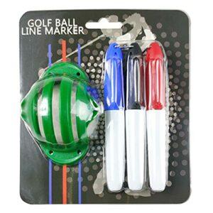 YOURPAI Marqueur de balle de golf – Marqueur d'alignement – Fournitures de golf – Vert