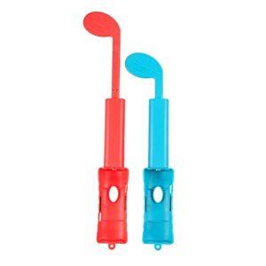 YSSClOTH 2 pièces Compatible pour Switch Clubs de Golf Type de cale de Golf Housse de Protection Accessoires de Jeu de Golf Clubs de Golf