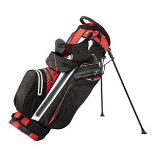 YYC Golf Club Stand Léger et Durable avec Trépied,Sac de Golf de Voyage avec 6-Façon Diviseur et 7 Poches pour Un Stockage Supplémentaire,Sac de Transport Organisés pour Adulte Unisexe