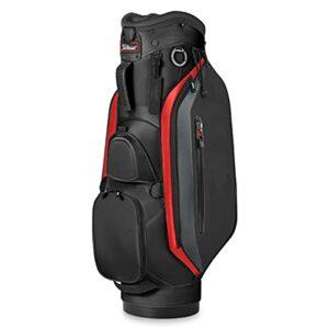 YYC Sac de Golf Adulte Unisexe avec Capuche,Sac de Golf de Voyage en Cuir Durable Imperméables avec 6-Façon Diviseur,pour 14 Clubs de Golf
