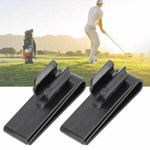 Zwinner Clip de Sac de Club de Golf, Support de Club de Golf 2 pièces, Parcours de Golf de Clubs de Golf pour l'extérieur