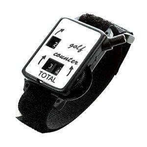 1PCS Golf Score Counter Watch Golf Course Score Gardien Accessoires, Noir // 330 (Color : Golf Score Counter Watch)