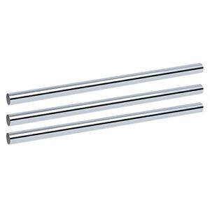 1ps 6mm 8mm 8mm 10mm 12mm 3D Pièces d'imprimante 3D Cylindre de rail linéaire Tiges à roulettes chromées Axis linéaire tige rond (Diameter : 12mm, Length : 450mm)