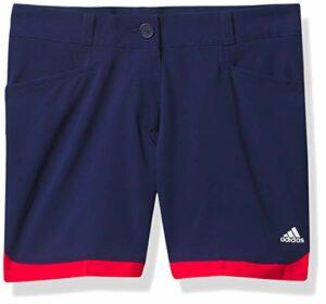 adidas Golf Scalloped Short, Dark Blue, X-Large