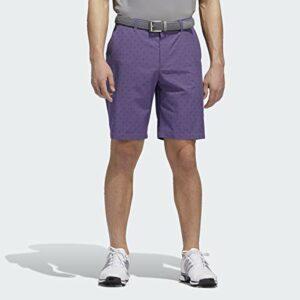 adidas Ultimate365 Badge of Sport Short pour homme, Homme, Short, Ultimate365 Badge of Sport Novelty Shorts, Violet technique., 30