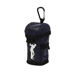 blueship Golf Ball Holder Golf Ball Storage Protection Carrier Squeeze Effortlessly for Golf Lover Dark Blue