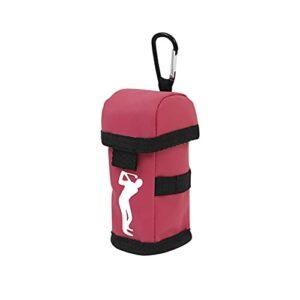 blueship Sac de golf portable avec impression claire – Accès rapide pour l'exercice – Rouge