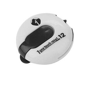 Boche de golf Clip Score Compteur Compteur Clicker Scorekeeper Outil Blanc Portable One Touch Réinitialiser Sports Utility