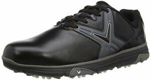 Callaway M585 Chev Comfort Golf Shoe, Chaussures Homme, Noir, 48.5 EU
