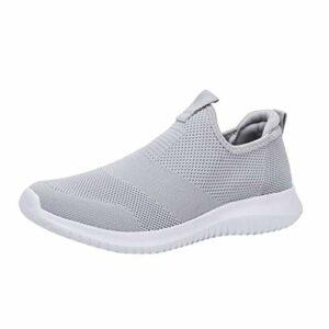 Cebbay Sneakers Homme Baskets, Chaussures de Sport Respirantes et tissées en Couple, Maille Creuse Ultra légère Shoes 35-48