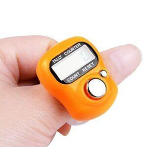 Compteur de doigts numérique LCD portable pour le tricotage et le fitness