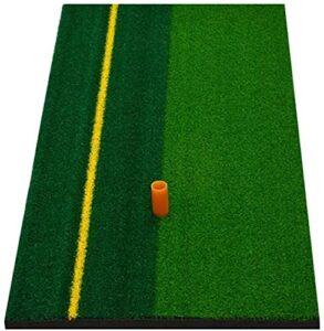 FGWE Pratiques de Golf Mat Artificiel pelouse pelouse Mousse Mousse Green arrière-Cour Tee Golf Frappe Tapis Golf Formation Aide Gym Sport extérieur Sport Sport,Green