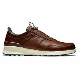 Footjoy Stratos, Chaussure de Golf Homme, Marron, 43 EU