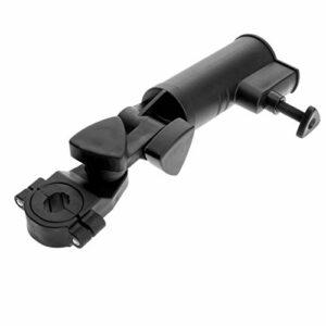 GSDGV Support de parapluie universel réglable et rotatif pour chariot de golf, chariot de pêche, vélo (noir)