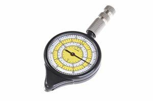 Huntington Télémètre: télémètre, opisomètre, curvimètre, Couleur: Blanc-Jaune, LX-3-02