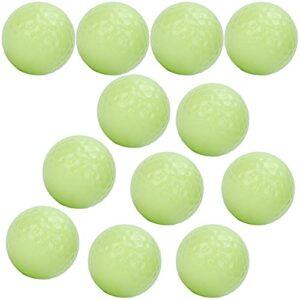 KASD Balles de de Nuit Lumineuses, balles de Brillantes de Longue durée dans Le pour Les Sports de Nuit en Cadeau